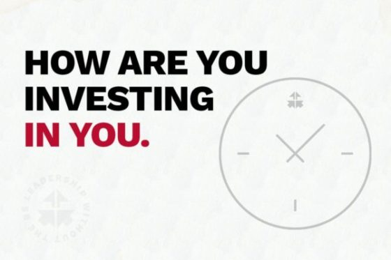 How Are You Investing In You?