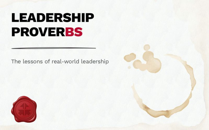 lightpaper - leadership proverbs