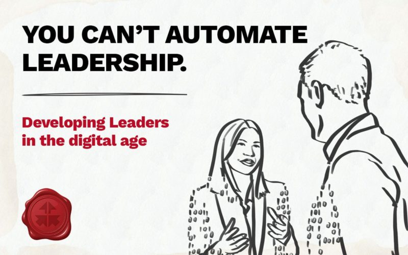 eBook You Can't Automate Leadership