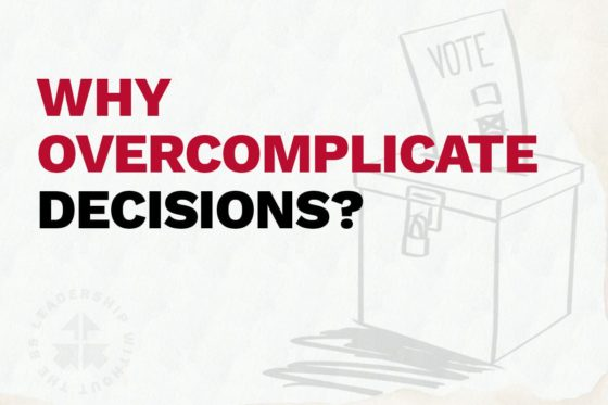 Why Overcomplicate Decisions?